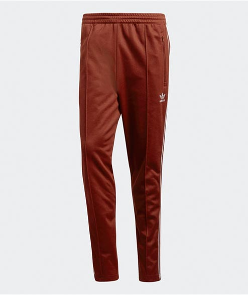 Adidas originals - Beckenbauer Pant - Rust Red
