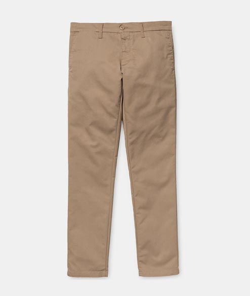 Carhartt WIP - Sid Pant - Leather Rinsed