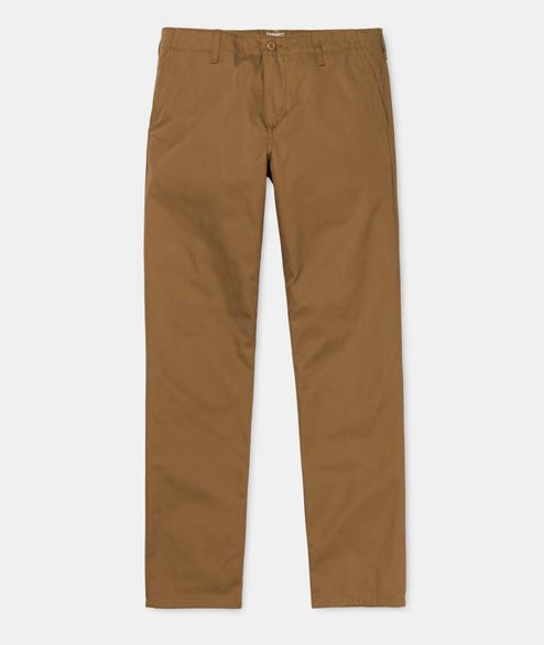 Carhartt WIP - Club Pant - Hamilton Brown Rinsed