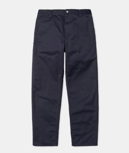 Carhartt WIP - Simple Pant - Navy Rinsed