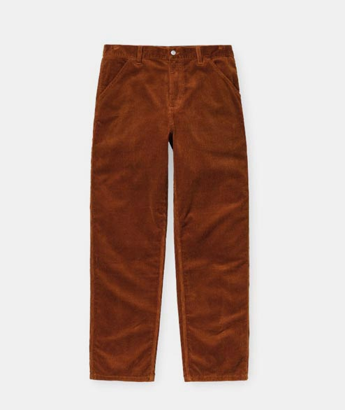 Carhartt WIP - Single Knee Pant Cord - Brandy