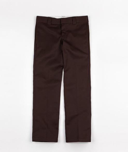 Dickies - Straight Work Pant - Chocolate