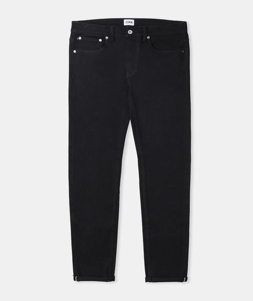 Edwin - ED 80 CS Ink Black Denim - Rinsed