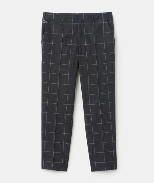 Lacoste Live - Flannel Chino Pant - Eclipse Falaise