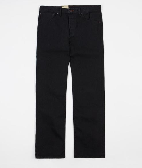Levis Skate - 501 STF 5 Pocket - Black