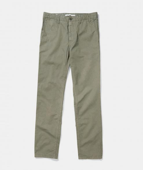 Norse Projects - Aros Light Twill - Dried Olive