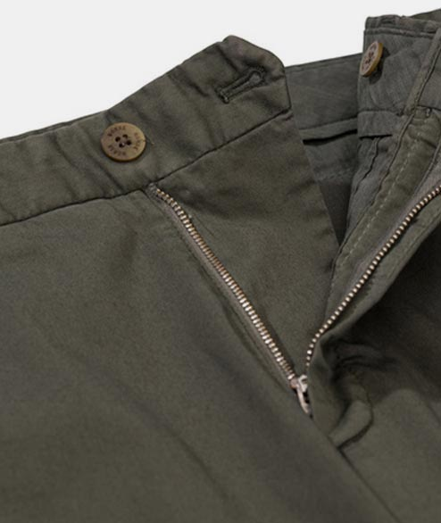 Norse Projects - Aros Slim Light Strech - Ivy Green