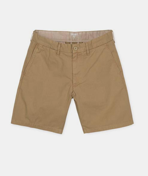 Carhartt WIP - John Short - Cotton Leather