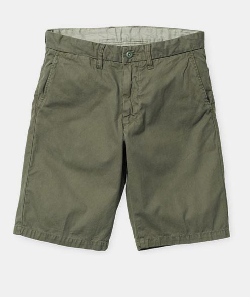 Carhartt WIP - Johnson Short - Rover Green Cotton