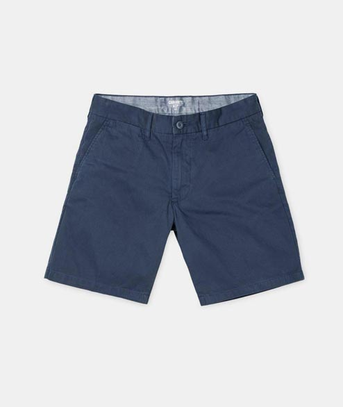 Carhartt WIP - John Short - Blue Cotton