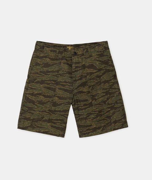 Carhartt WIP - Fatigue Short - Camo Tiger