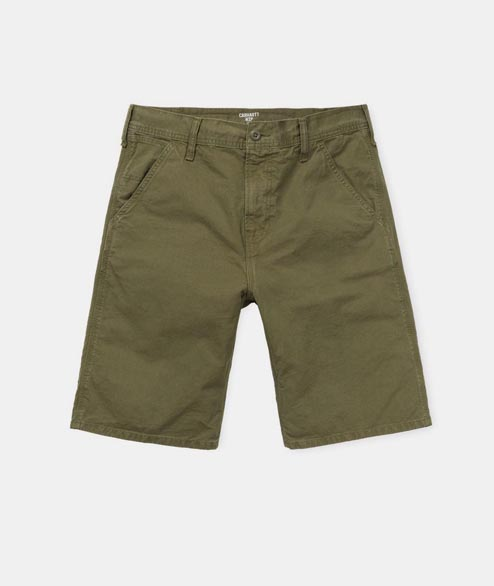 Carhartt WIP - Chalk Short - Rover Green