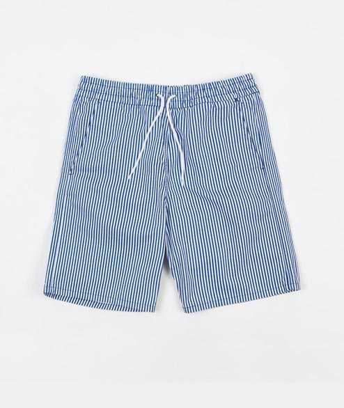Levis Skate - Easy Short - Pinstripe Blue