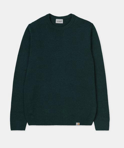 Carhartt WIP - Allen Sweater - Dark Fir Gold