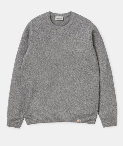 Carhartt WIP - Allen Sweater - Grey Heather