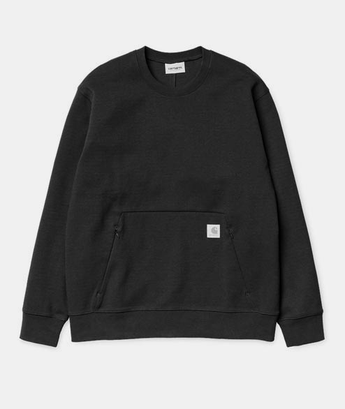 Carhartt WIP - Gamma Sweat - Black