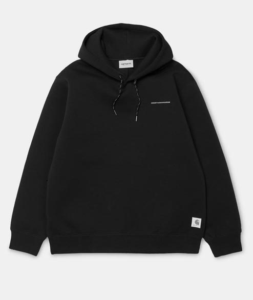 Carhartt WIP - Hooded Beta Sweat - Reflective Black