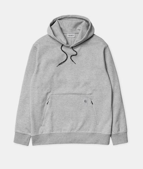 Carhartt WIP - Hooded Gamma Sweat - Grey Heather