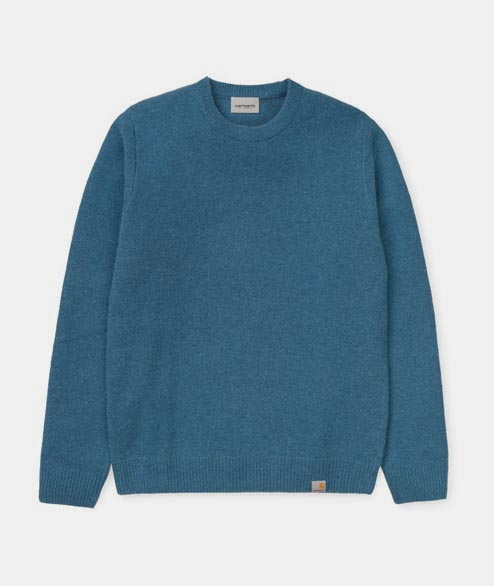 Carhartt WIP - Allen Sweater - Prussian Blue