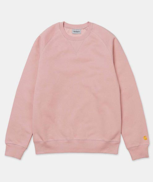 Carhartt WIP - Chase Sweat - Soft Rose