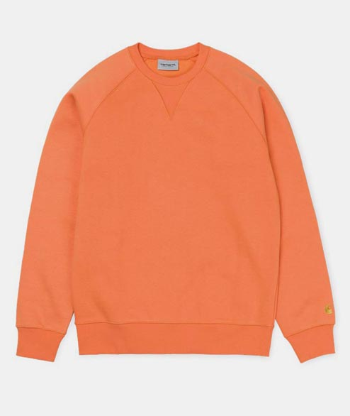 Carhartt WIP - Chase Sweat - Jaffa Gold