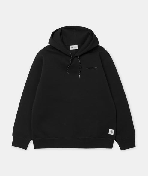 Carhartt WIP - Beta Hooded Sweat - Black Reflective