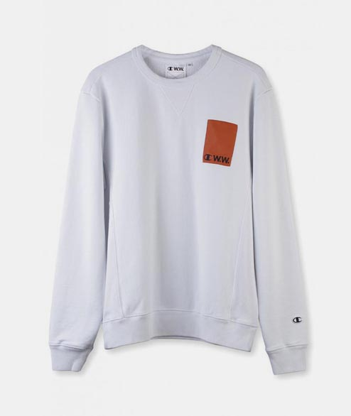 Champion by Wood Wood - Hugo Sweatshirt - Bright White