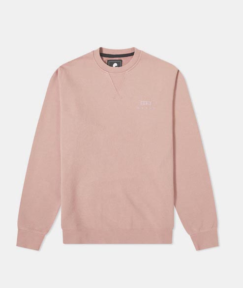 Edwin - Base Crew Sweat - Woodrose