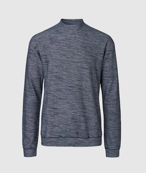 Libertine Libertine - Ecto Sweat - Blue Melange
