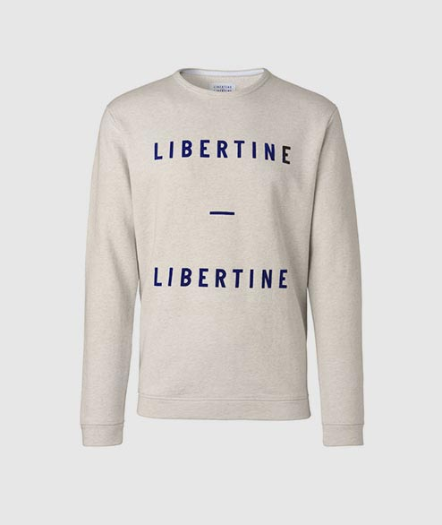Libertine Libertine - East Sweat - Beige Melange