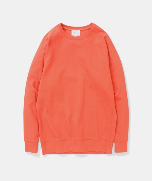 Norse Projects - Vorm Summer Interlock - Burned Red