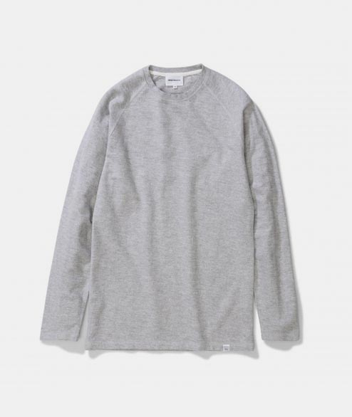 Norse Projects - Victor Brushed - Light Grey Melange