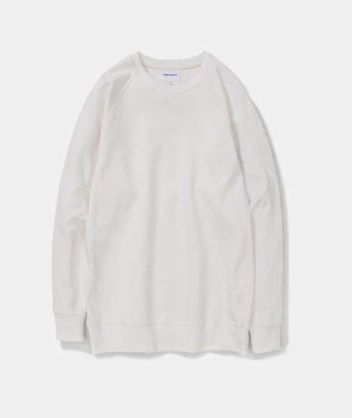 Norse Projects - Vorm Summer Interlock - White