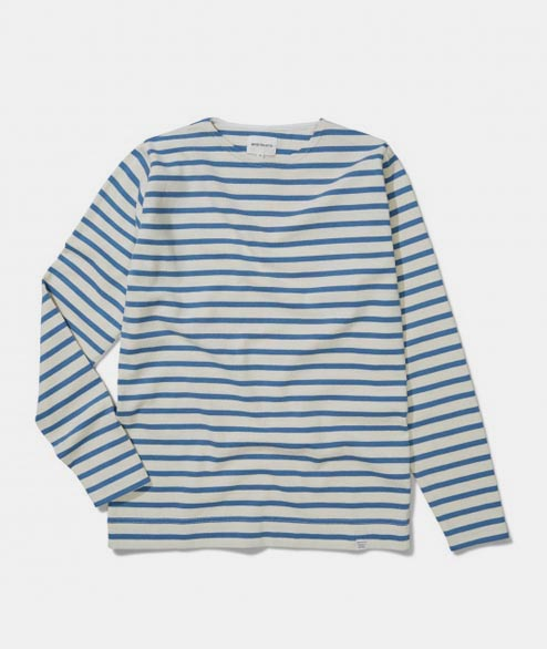 Norse Projects - Godtfred Classic Compact - Ecru Marginal Blue