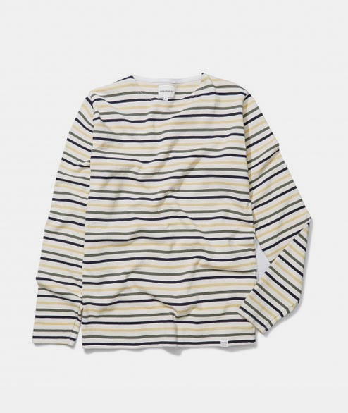 Norse Projects - Godtfred Multi Stripe - Multi