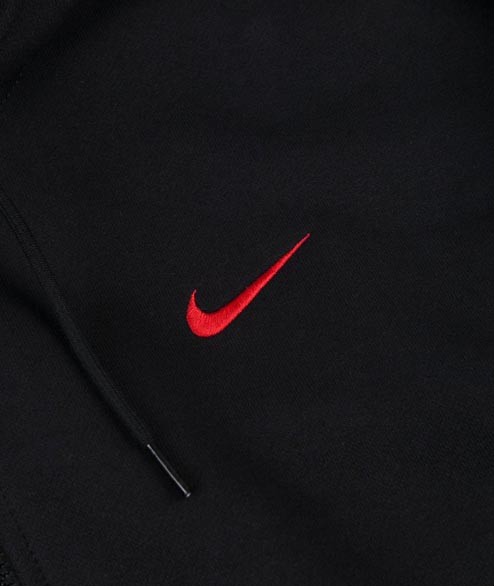 Nike SB - SB Hoodie ISO - Black University Red
