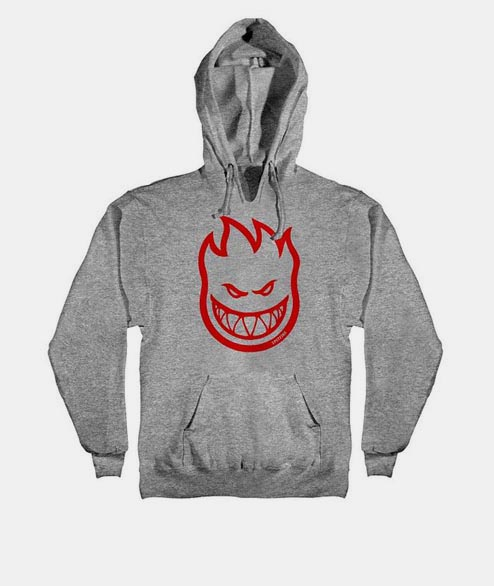 Spitfire - Bighead Pullover - Grey Heather Red