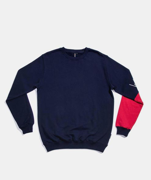 Wayward - Basque Crewneck - Navy