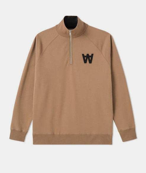 Wood Wood - Curtis Sweatshirt - Khaki
