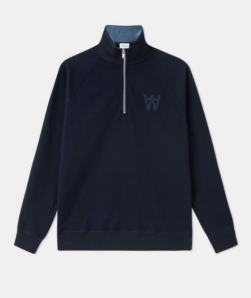Wood Wood - Curtis Sweatshirt - Navy