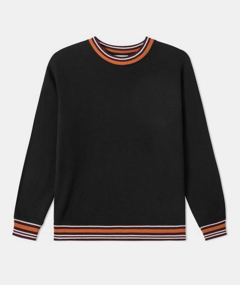 Wood Wood - Nathan Sweatshirt - Black