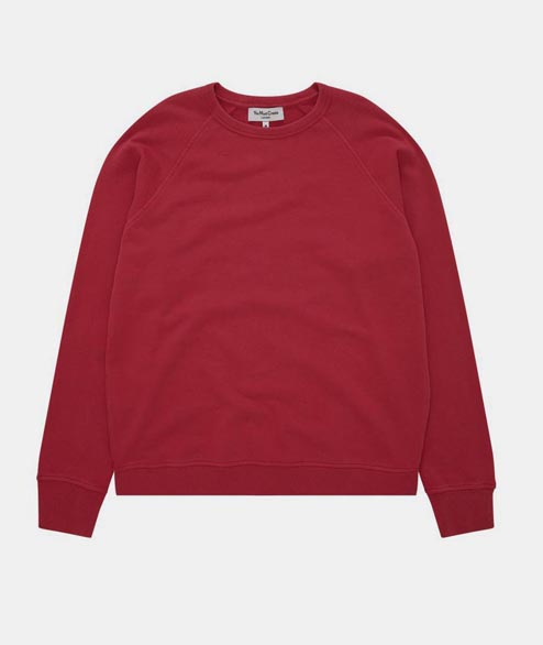 YMC - Schrank Raglan Sweat - Red