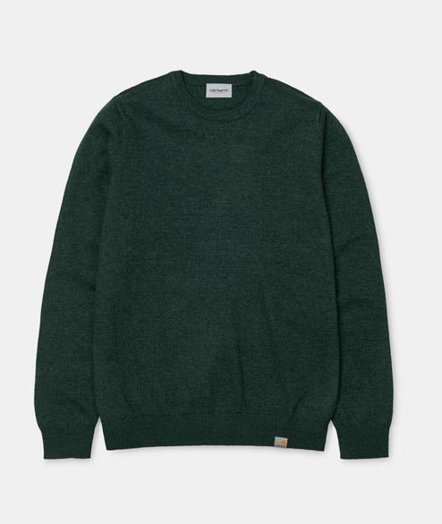 Carhartt WIP - Playoff Sweater - Parsley Heather