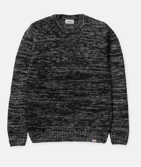 Carhartt WIP - Morris Sweater - Black Blacksmith