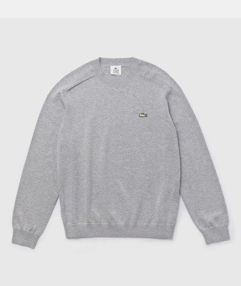 Lacoste Live - Round Neck Sweater - Grey