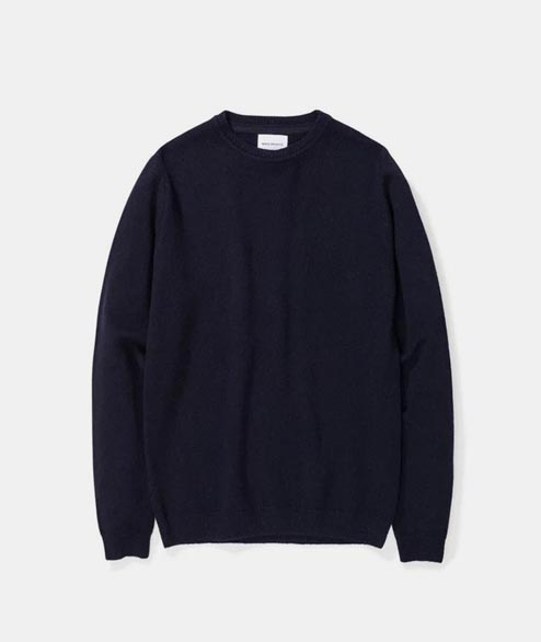 Norse Projects - Sigfred Lambswool - Navy