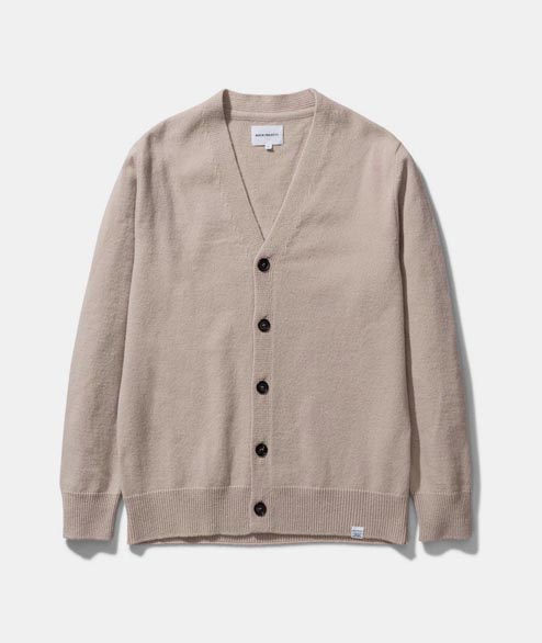 Norse Projects - Adam Lambswool - Utility Khaki