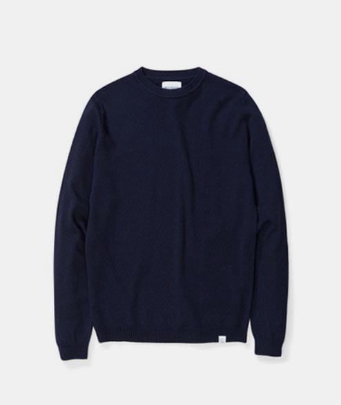 Norse Projects - Sigfred Light Wool - Dark Navy