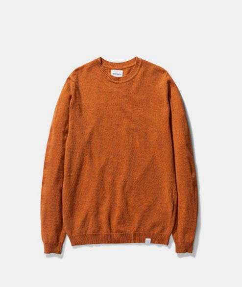 Norse Projects - Sigfred Light Wool - Cadmium Orange