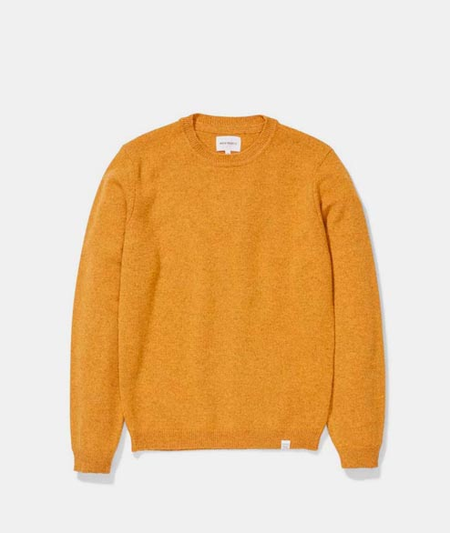 Norse Projects - Sigfred Lambswool - Montpellier Yellow